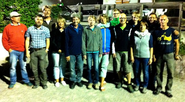 In der Vereinsmeisterschaft triumphiert in der 2. Runde Denkendorf-2 gegen Denkendorf-1