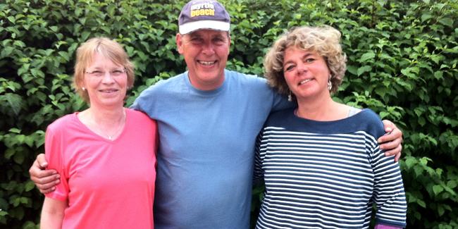 Drei Denkendorfer Spielern gelang die Qualifikation zur Deutschen Meisterschaft Doublette Mixte. V.l.n.r.: Veronika Mehrens, Jochen Kauffmann, Katrin Schwinger