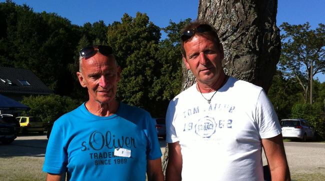 3. Platz im B-Turnier: Oliver West (Denkendorf) und Thomas Brinkmann (Ruit)
